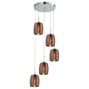 Gobi  Lampa wisząca – szklane – kolor miedź