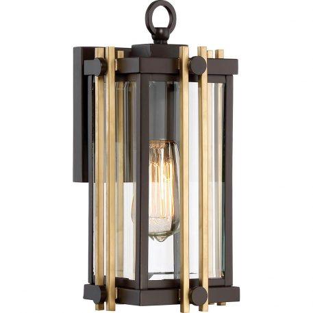 Goldenrod Lampa klasyczna – szklane – kolor brązowy, transparentny