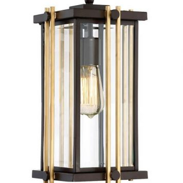 Goldenrod Lampa wisząca – szklane – kolor brązowy, transparentny