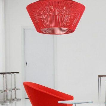 Goya  Lampa wisząca – Styl skandynawski – kolor Czerwony