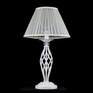 Grace  Lampa klasyczna – Z abażurem – kolor biały