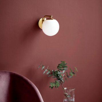 Grant Lampa nowoczesna – szklane – kolor złoty