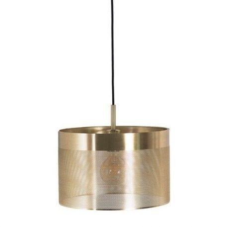 Grid 1 Lampa wisząca – Styl nowoczesny – kolor mosiądz, złoty