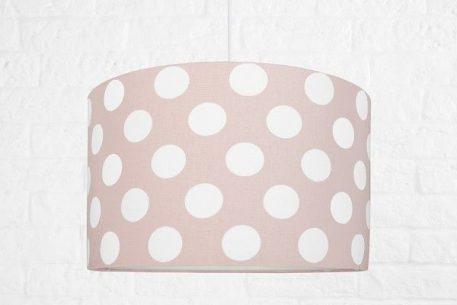 Grochy  Lampa wisząca – Z abażurem – kolor różowy