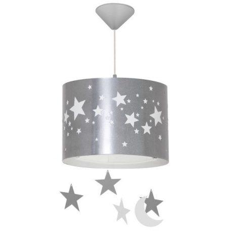 Gwiazdy  Lampa wisząca – kolor srebrny