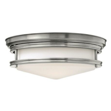 Hadley  Plafon – szklane – kolor biały, srebrny