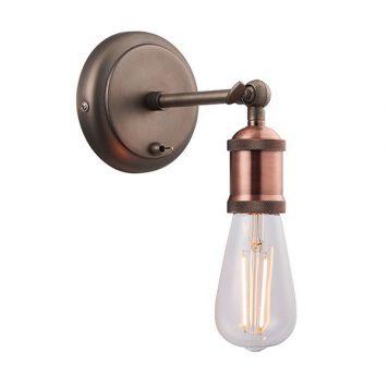 Hal Lampa industrialna – industrialny – kolor brązowy, miedź
