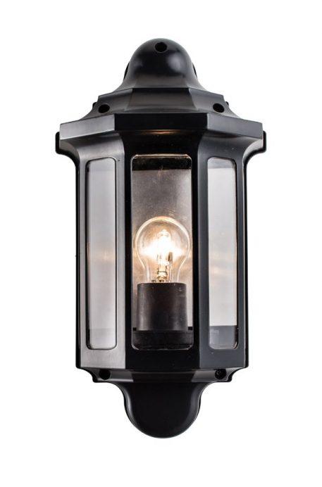 Half Lampa zewnętrzna – klasyczny – kolor Czarny
