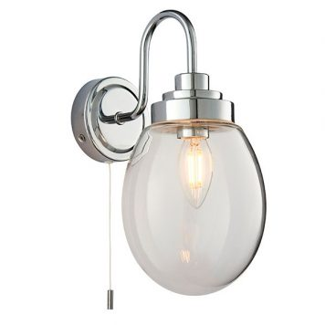 Hampton Lampa klasyczna – klasyczny – kolor srebrny, transparentny