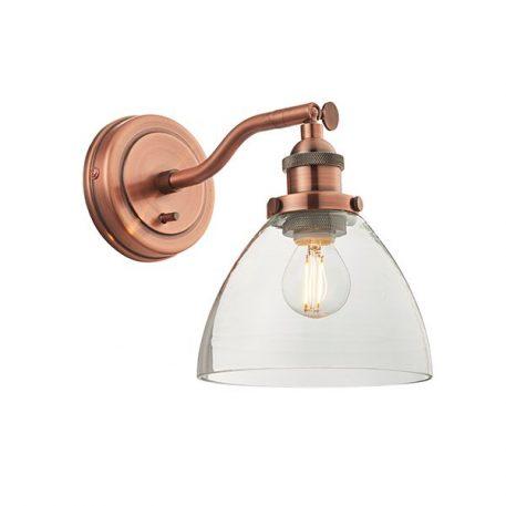 Hansen  Lampa klasyczna – industrialny – kolor miedź
