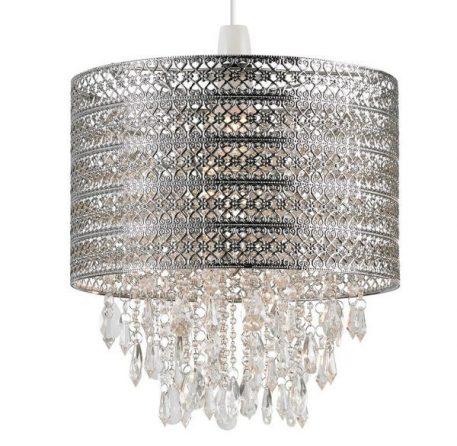Harewood Lampa wisząca – Styl nowoczesny – kolor srebrny