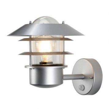 Helsingor  Lampa zewnętrzna – Styl nowoczesny – kolor srebrny, transparentny