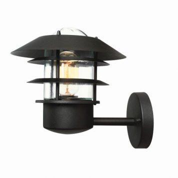 Helsingor  Lampa zewnętrzna – szklane – kolor transparentny, Czarny