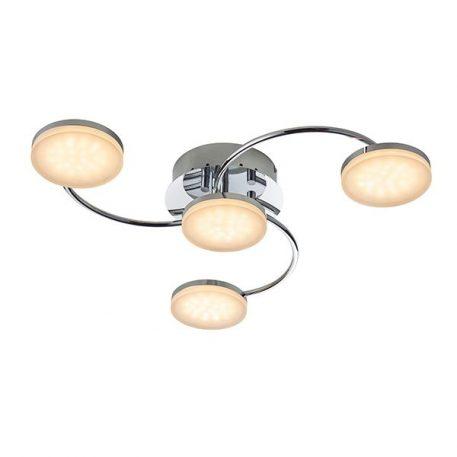 Helsinki Lampa sufitowa – Lampy i oświetlenie LED – kolor srebrny