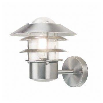 Helsinki  Lampa zewnętrzna – Styl nowoczesny – kolor srebrny, transparentny
