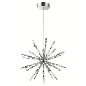 Hikari  Lampa wisząca – Styl nowoczesny – kolor srebrny