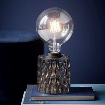 Hollywood Lampa nowoczesna – Styl nowoczesny – kolor transparentny, Szary