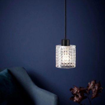 Hollywood  Lampa wisząca – szklane – kolor transparentny