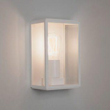 Homefield Lampa industrialna – industrialny – kolor biały, transparentny