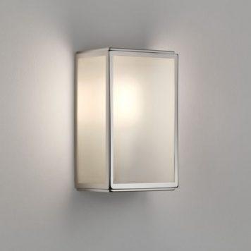 Homefield Lampa zewnętrzna – szklane – kolor srebrny