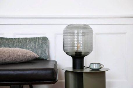 Honey  Lampa skandynawska – szklane – kolor Szary