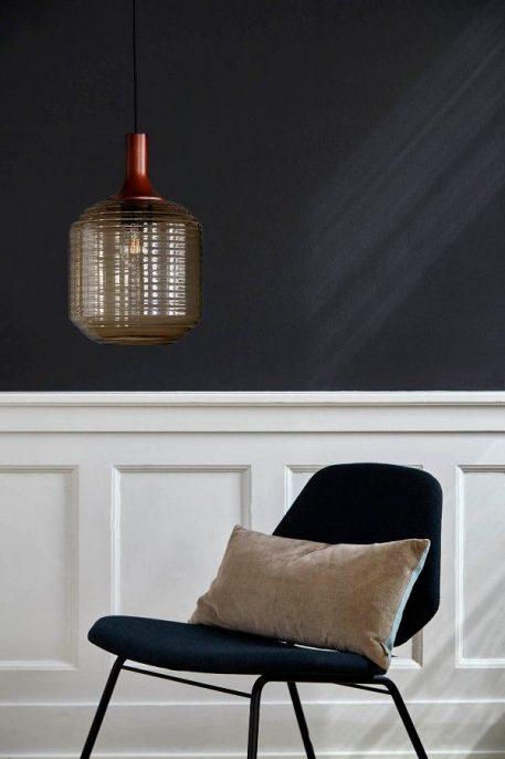 Honey  Lampa wisząca – szklane – kolor beżowy