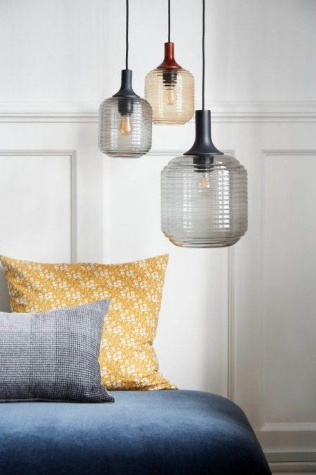 Honey  Lampa wisząca – szklane – kolor Szary