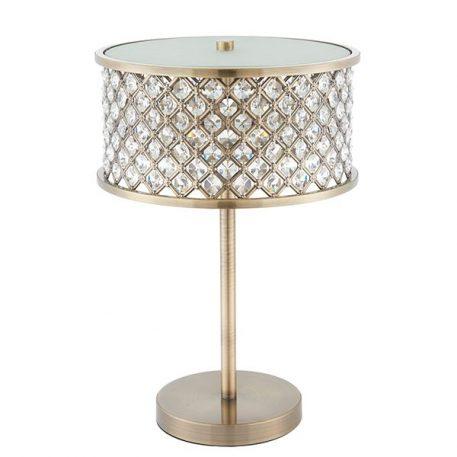 Hudson Lampa nowoczesna – kryształowe