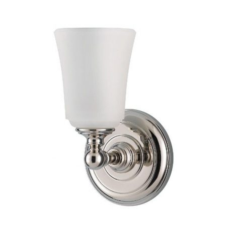 Huguenot Lampa klasyczna – szklane – kolor biały, srebrny