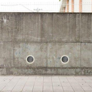 Hunt Lampa zewnętrzna – Styl nowoczesny – kolor srebrny