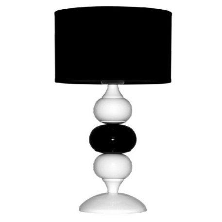 Ibis Lampa nowoczesna – Styl nowoczesny – kolor biały, Czarny