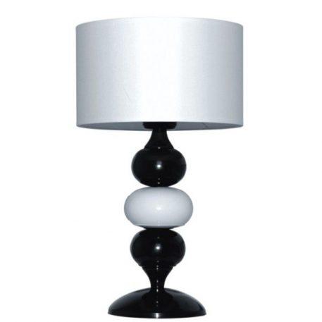 Ibis Lampa nowoczesna – Z abażurem – kolor biały, Czarny