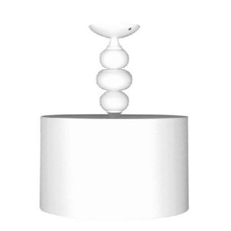 Ibis  Lampa sufitowa – Styl modern classic – kolor biały