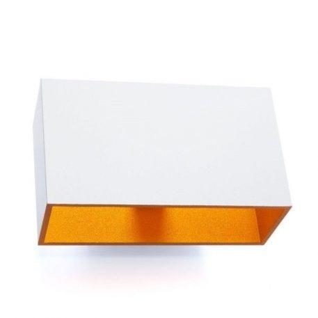 Idea  Lampa nowoczesna – Styl nowoczesny – kolor biały, złoty