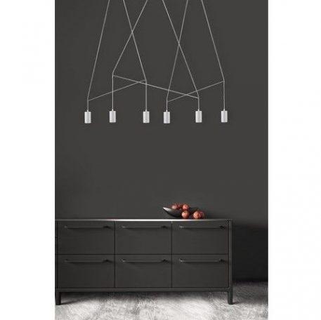 Imbria  Lampa wisząca – Styl nowoczesny – kolor biały