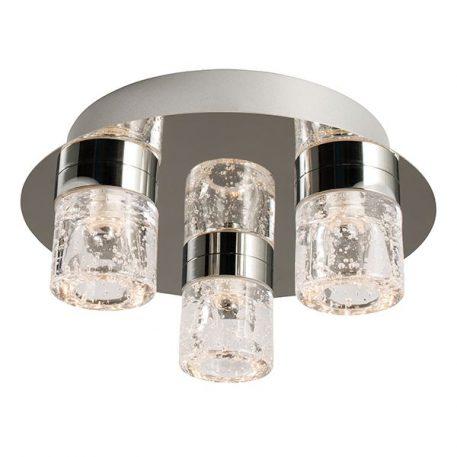 Imperial Lampa sufitowa – Styl nowoczesny – kolor srebrny, transparentny