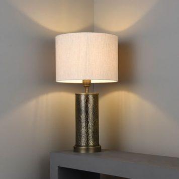 Indara Lampa klasyczna – klasyczny – kolor beżowy, brązowy