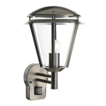 Inova  Lampa zewnętrzna – Styl nowoczesny – kolor srebrny, transparentny