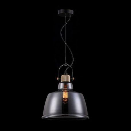 Irving Lampa wisząca – szklane – kolor transparentny, Szary