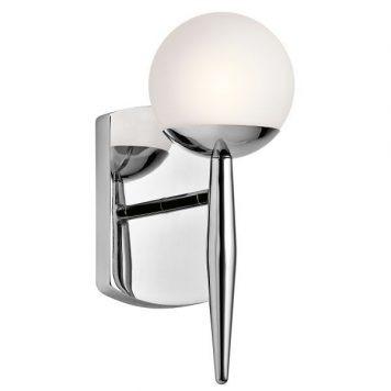Jasper Lampa nowoczesna – klasyczny – kolor biały, srebrny