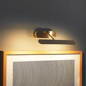 Jersey Lampa nowoczesna – Do czytania – kolor mosiądz