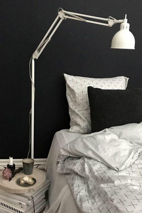 Job Lampa skandynawska – Styl nowoczesny – kolor biały