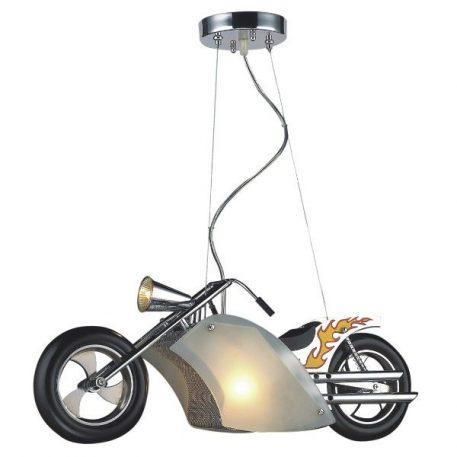 Junior Lampa wisząca – Styl nowoczesny – kolor srebrny, Szary