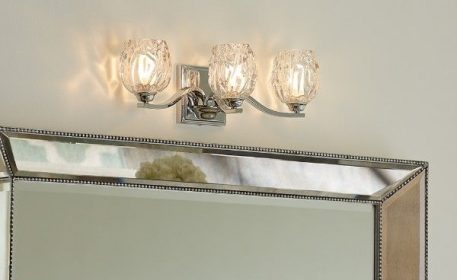 Kalli Lampa klasyczna – szklane – kolor srebrny, transparentny