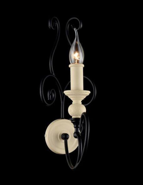 Karina Lampa klasyczna – klasyczny – kolor beżowy, Czarny
