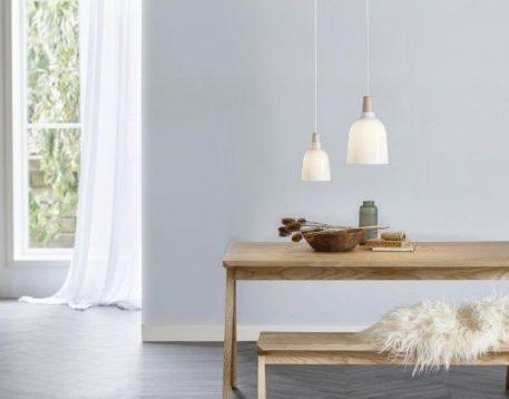 Karma Lampa wisząca – Styl skandynawski – kolor biały