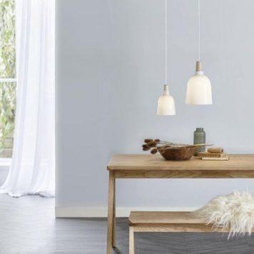 Karma Lampa wisząca – szklane – kolor biały
