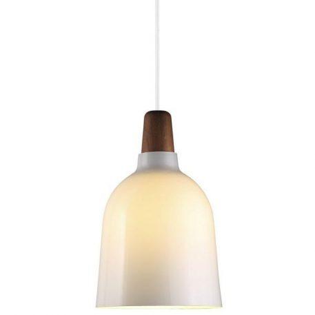 Karma Lampa wisząca – szklane – kolor biały, brązowy
