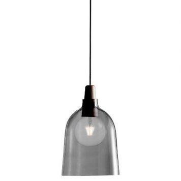 Karma Lampa wisząca – szklane – kolor brązowy, Szary