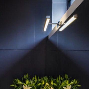Kashima Lampa nowoczesna – Styl nowoczesny – kolor srebrny